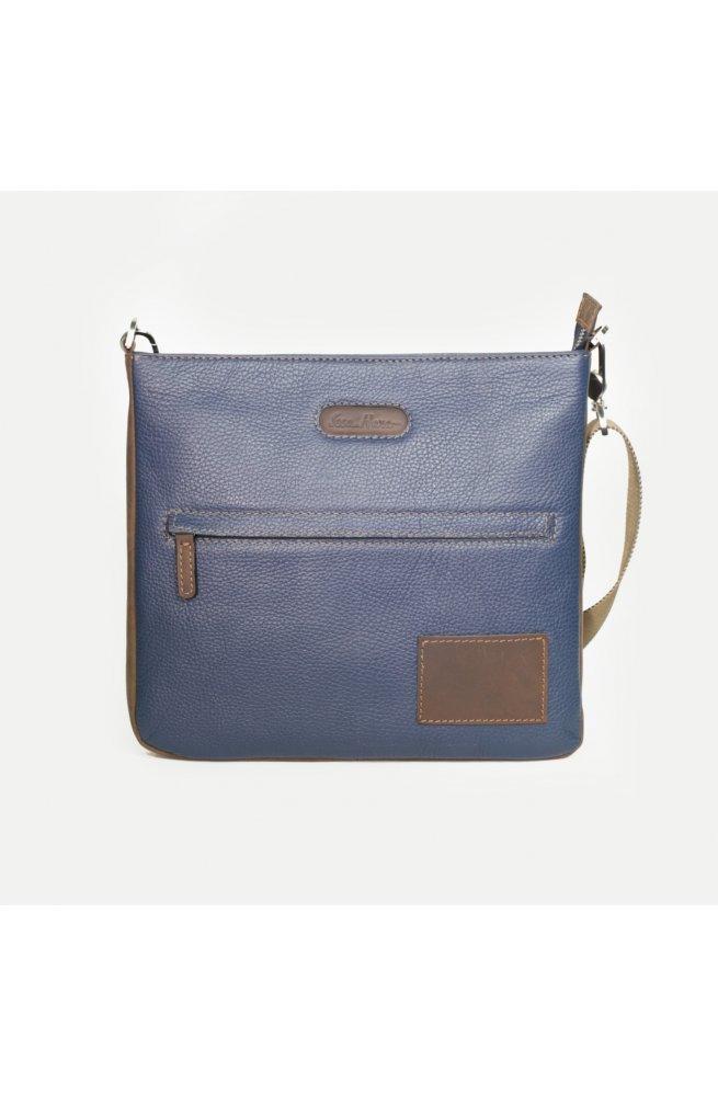 dc06764fc207 Кожаная мужская сумка через плечо Issa Hara.Код: В10-05 (13-32 ...