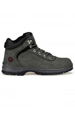 Ботинки мужские зимние B250 - Темно- Серый