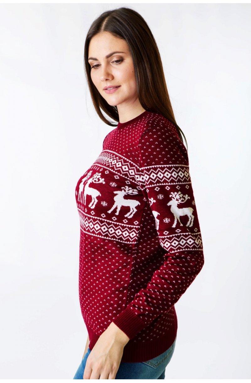 Светр Різдвяний з оленями жіночий  Светр Різдвяний з оленями жіночий ... 6bb776e7f0710
