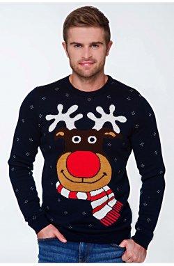 Светр Різдвяний з оленями чоловічий