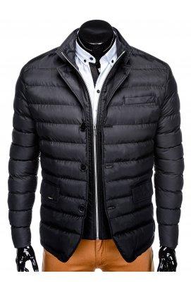 Куртка мужская демисезонная стеганая K364 - черный