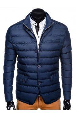 Куртка мужская демисезонная стеганая K364 - Синий