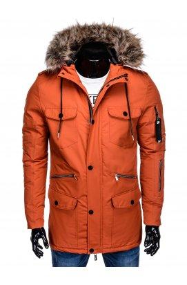 Куртка мужская демисезонная K382 - оранжевый