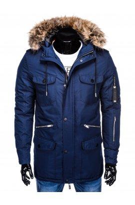 Куртка мужская демисезонная K382 - синий