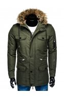 Куртка мужская демисезонная K382 - хаки