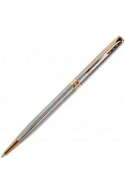 Ручка шариковая Parker Slim Stainless Steel GT BP 84 131