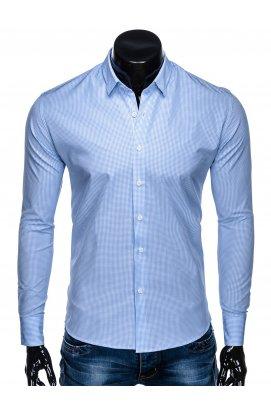 Рубашка мужская R435 - светло - голубой