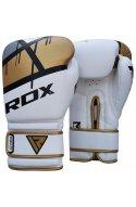 Боксерские перчатки RDX Rex Leather Gold 1