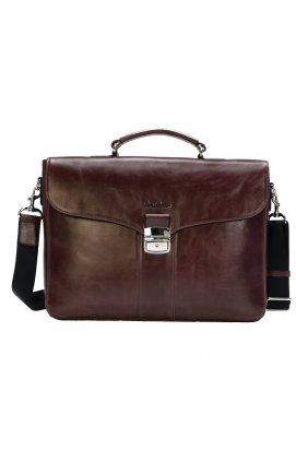 Мужской кожаный портфель Issa Hara