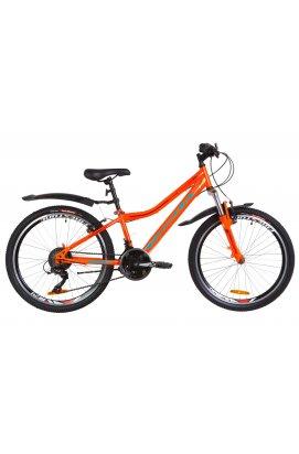 """Горный; Подростковый Велосипед 24"""" Formula FOREST AM 2019 (оранжево-бирюзовый)"""
