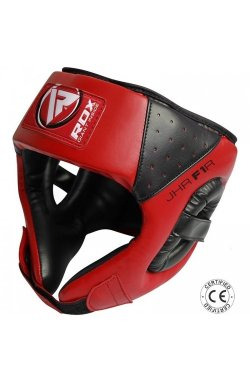 Боксерский шлем детский RDX Red