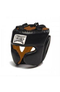 Боксерский шлем Leone Performance Black M