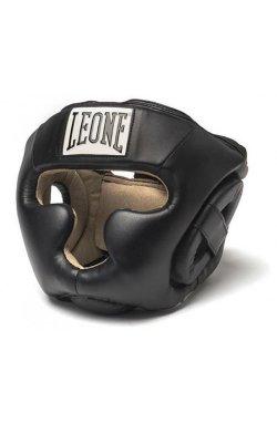 Боксерский шлем Leone Junior Black S
