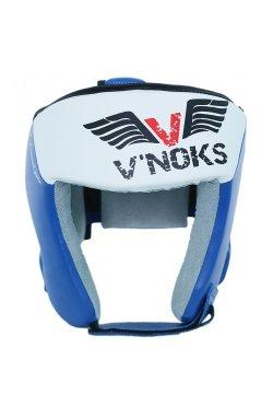 Боксерский шлем V`Noks Lotta Blue L