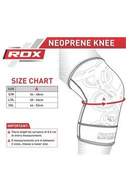 Наколенник спортивный неопреновый RDX S/M