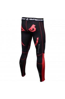 Компрессионные штаны Bad Boy Leggings Black/Red S