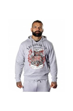 Толстовка Leone Legionarivs Fleece Grey S