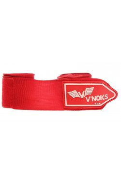 Бинты боксерские V`Noks 4,5m Red