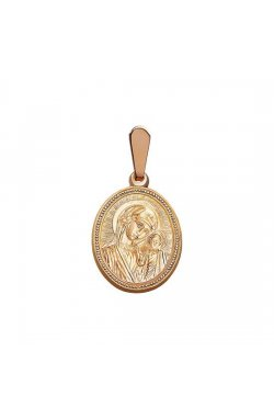 Кулон из красного золота (1680720)