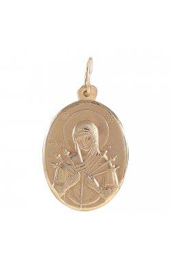 Кулон из красного золота (1680833)