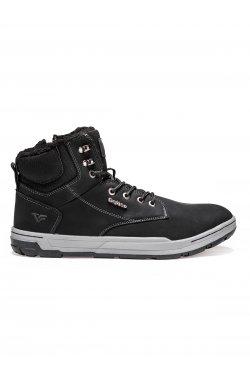 Ботинки мужские зимние B255 - черный