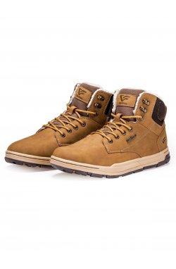 Ботинки мужские зимние B255 - коричневый