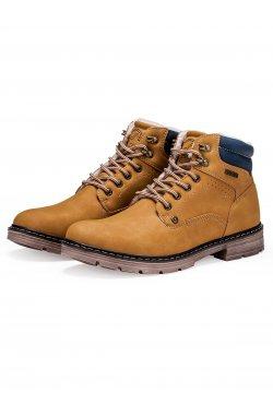 Ботинки мужские зимние B251 - Рыжий