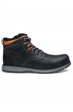 Ботинки мужские зимние B252 - черный