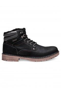 Ботинки мужские зимние B251 - черный