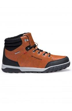 Ботинки мужские зимние B253 - коричневый