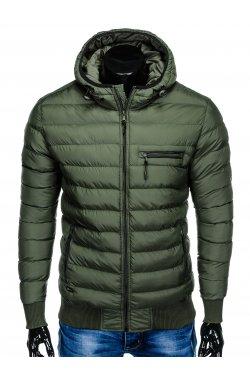 Куртка мужская демисезонная стеганая K353 - хаки