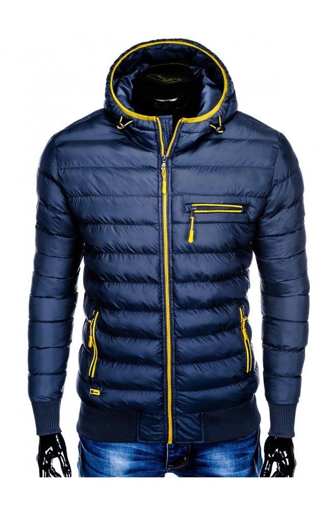 Куртка мужская стеганая K353 - Синий