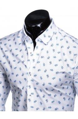 Рубашка мужская R455 - Белый