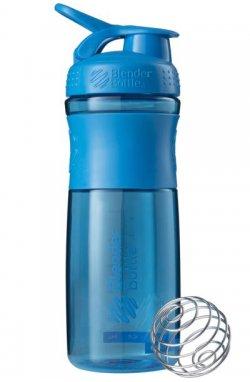 Спортивная бутылка-шейкер BlenderBottle SportMixer 820ml Cyan (ORIGINAL)