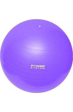 Мяч для фитнеса и гимнастики POWER SYSTEM PS-4013 75 cm Purple