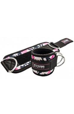 Манжети на лодыжку Power System Ankle Strap Camo PS-3470 Pink/Black