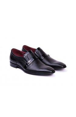 Туфли мужские. Цвет черный.