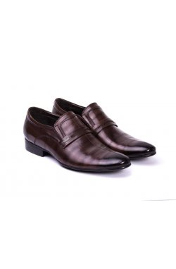 Туфли мужские. Цвет коричневый.