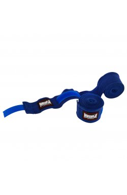 Бинты для бокса PowerPlay 3047 Сині (4м)