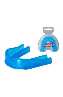 Капа боксерская PowerPlay 3307 R Синя
