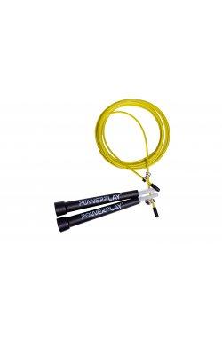 Скакалка скоростная PowerPlay 4202 Жовта