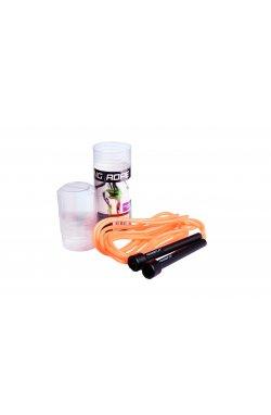 Скакалка PowerPlay 4201 Оранжева