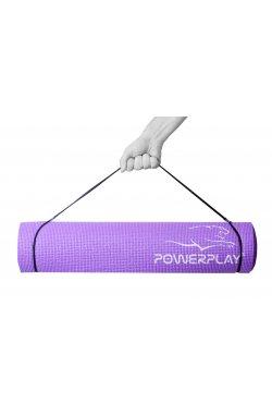 Коврик для фитнеса і йоги PowerPlay 4010 (183*61*0.6) Фіолетовий