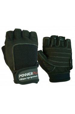 Рукавички для фитнеса PowerPlay 1588 D Чорні