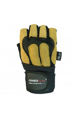 Перчатки для фитнеса PowerPlay 1071 А Жовті
