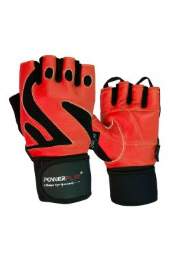 Перчатки для фитнеса PowerPlay 1064 E Червоні