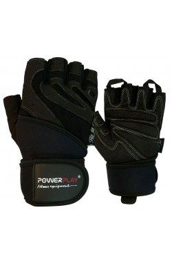 Перчатки для фитнеса PowerPlay 1063 E Чорні
