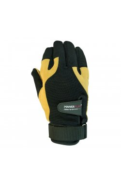 Перчатки для CrossFit Powerplay 2075 Чорно-жовті
