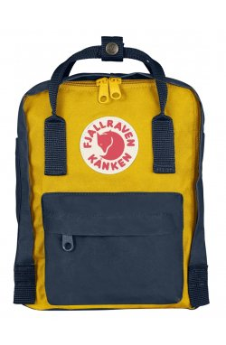 Рюкзак Kanken Mini Navy/Warm Yellow