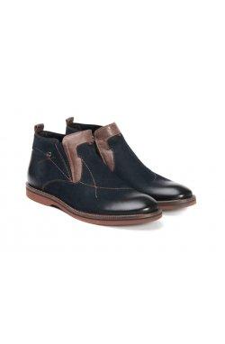 Ботинки мужские. Цвет темно-синий.